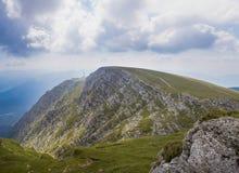 Montanha de Caraiman Fotografia de Stock Royalty Free