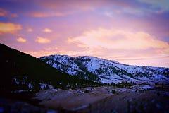 Montanha de Casper foto de stock