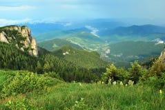 Montanha de Ceahlau Fotos de Stock Royalty Free