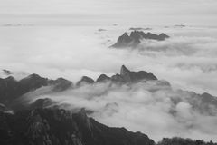 Montanha de China Sanqing fotografia de stock