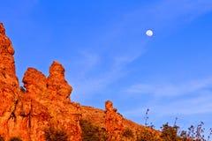 Montanha de Chisos Foto de Stock