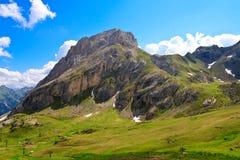 Montanha de Colac nas dolomites Fotos de Stock
