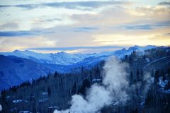 Montanha de Colorado fotografia de stock
