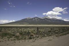 Montanha de Colorado Foto de Stock