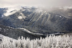 Montanha de cristal Foto de Stock Royalty Free