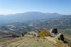 Montanha de Demerji em Crimeia perto de Alushta imagem de stock royalty free