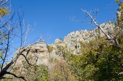 Montanha de Demerji em Crimeia perto de Alushta Imagens de Stock Royalty Free