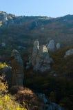 Montanha de Demerji em Crimeia perto de Alushta Fotografia de Stock