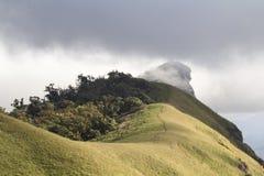 Montanha de Doi segunda-feira Jong, distrito Chiang Mai Thailand de Omkoi Imagem de Stock Royalty Free
