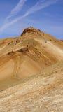 Montanha de escalada dos povos de Kerlingarfjöll Imagens de Stock Royalty Free