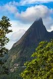 Montanha de Escalavrado, o parque nacional do órgão no estado de Rio de janeiro, Brasil, Ámérica do Sul fotos de stock