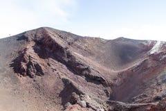 Montanha de Etna Foto de Stock