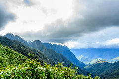 Montanha de Fansipan Imagens de Stock