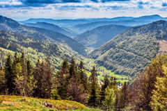 Montanha de Feldberg na mola Fotografia de Stock Royalty Free