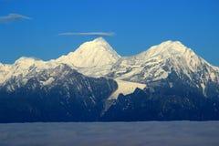 Montanha de Gongga Fotografia de Stock Royalty Free