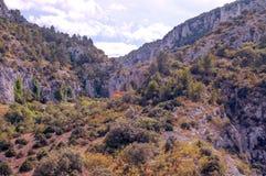 Montanha de Gordes Fotografia de Stock Royalty Free