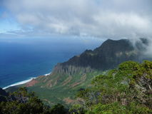 Montanha 5 de Havaí Foto de Stock