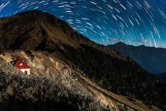 Montanha de Hehuanshan Foto de Stock Royalty Free