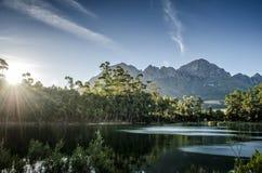 Montanha de Helderberg imagem de stock royalty free