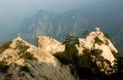 Montanha de Hua Shan Foto de Stock Royalty Free