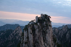 Montanha de Huangshan, China Foto de Stock Royalty Free