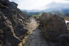 Montanha de Huangshan a oeste do cenário de anhui Fotografia de Stock