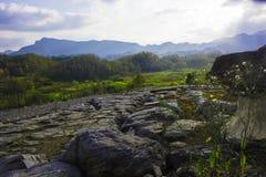 Montanha de Huangshan a oeste do cenário de anhui Fotos de Stock Royalty Free