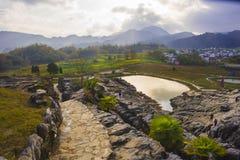 Montanha de Huangshan a oeste do cenário de anhui Foto de Stock