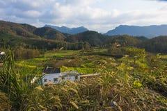 Montanha de Huangshan a oeste do cenário de anhui Fotos de Stock