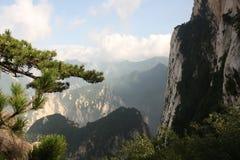 Montanha de Huashan em China imagem de stock