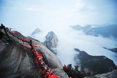 Montanha de Huashan na manhã Imagem de Stock
