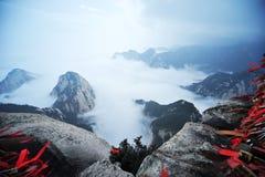 Montanha de Huashan na manhã Foto de Stock Royalty Free