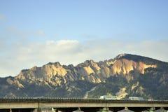 Montanha de Huoyan-Shan (chama) (paisagem de Taiwan) fotografia de stock royalty free