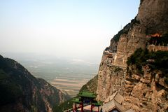 Montanha de Jiexiu Mian Foto de Stock