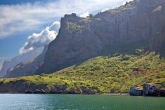 Montanha de Kara Dag Imagem de Stock