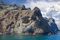 Montanha de Kara Dag Fotografia de Stock Royalty Free