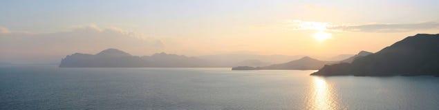 Montanha de Karadag Fotografia de Stock Royalty Free