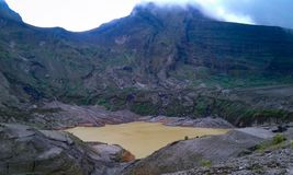 Montanha de Kelud imagem de stock