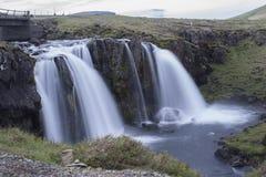 Montanha de Kirkjufell em Grundarfjordur Foto de Stock