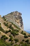 Montanha de Koba-Kaya Imagem de Stock Royalty Free