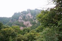 Montanha de Kongtong Fotos de Stock