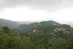 Montanha de Kongtong Fotografia de Stock Royalty Free