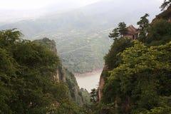 Montanha de Kongtong Imagens de Stock