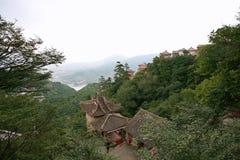 Montanha de Kongtong Imagens de Stock Royalty Free