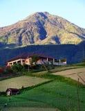 Montanha de Lawu, Indonésia imagens de stock royalty free