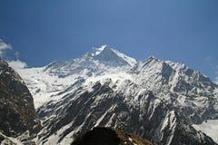 Montanha de Machapuchare Imagem de Stock Royalty Free