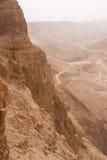 Montanha de Masada no embaçamento Fotos de Stock