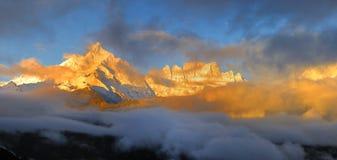 Montanha de Meili cénico Imagens de Stock Royalty Free