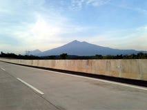 Montanha de Merbabu foto de stock