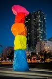 Montanha de Miami em Miami Beach Imagem de Stock Royalty Free